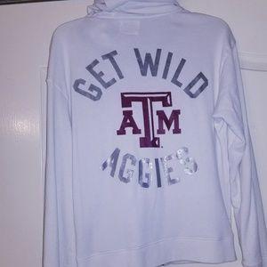Victoria's secret pink Texas a&m jacket